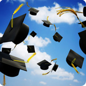 graduation-caps-in-the-air